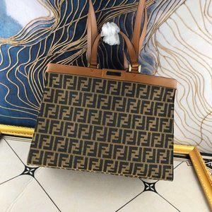 Satchel Handbag F💝 D Leather Shoulder Bag